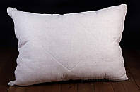 Подушка Lintex лен-стружка серая 70х70 см
