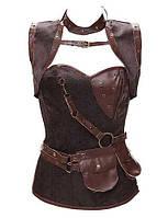 Для женщин Классический корсет Ночное белье Сексуальные платья / Увеличивающий объем Жаккард-Средний Органический хлопок / Полиуретановые 05165408