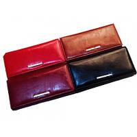 Кожаные женские кошельки 19*9 (4 цвета)