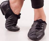 Обувь для танцев джазовки (кожа) все размеры (30-45р)