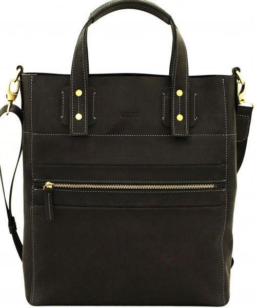 Мужская сумка из натуральной кожи VATTO MK6.2 KR670 черный