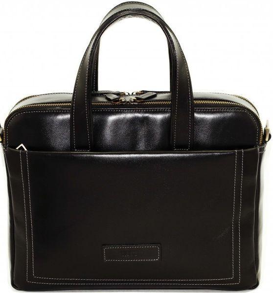 Чоловіча сумка з натуральної шкіри VATTO MK65 KAZ1 чорний