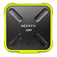 Накопитель SSD USB 3.1 256GB ADATA (ASD700-256GU3-CYL)