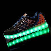 Для мужчин Спортивная обувь Удобная обувь Обувь с подсветкой Полиуретан Осень Зима Атлетический ПовседневныеУдобная обувь Обувь с 05477039