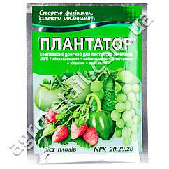 Удобрение Плантатор Рост плодов 20.20.20 25 г