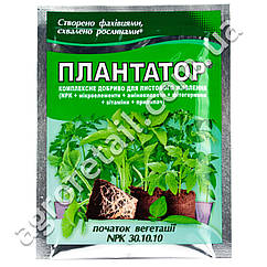Удобрение Плантатор Начало вегетации 30.10.10 25 г