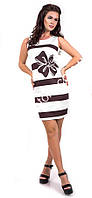 Платье 708 (42/44 - 44/46) бант белое