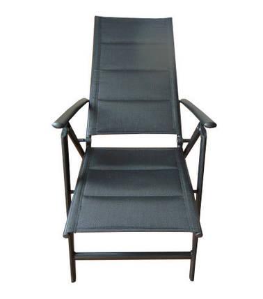 Садовое кресло алюминиевое FURNIDE 1492, фото 2
