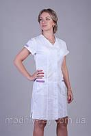 Медицинский халат с коротким рукавом