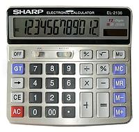 Калькулятор Sharp 2136, двойное питание LO