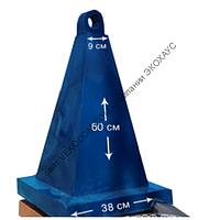 Конус сигнальный квадратный большой 72 см