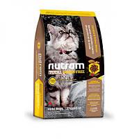 Nutram Total Grain-Free Turkey & Chiken Cat Food, холистик корм для котов, индейка/курица, 6,8кг