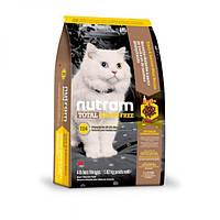 Nutram Total Grain-Free Salmon & Trout Cat Food, холистик корм для котов, лосось/форель, 1,8кг