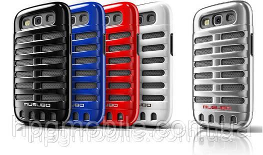 Чехол для Samsung i9300 Galaxy S3 - MUSUBO Retro back cover