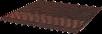 Cloud Brown ступень прямая структурная 30x30