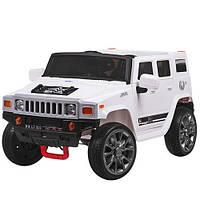Электромобиль детский джип Hummer M 3581EBR-1 белый