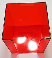 Бокс для бумаги Economix Е32601-03 ярко-красный