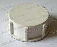 Заглушка пластиковая с резьбой, 1 ¼ дюйма