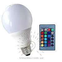 Лампа Lemanso св-ая E27 RGB 3W 210LM с пультом 85-265V (48*92mm) / LM735 описание, отзывы, характеристики