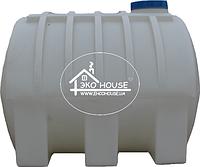 Код-208Т. Емкость горизонтальная усиленная для транспортировки воды и КАСа 5000л