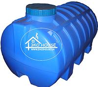 Код-206Т. Емкость горизонтальная усиленная для транспортировки воды и КАСа 2000л