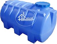 Код-204Т. Емкость горизонтальная усиленная для транспортировки  воды и КАСа 1000л