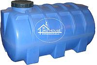 Код-205Т. Емкость горизонтальная  усиленная для транспортировки воды и КАСа 1500л