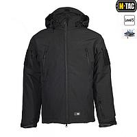 Куртка Softshell M-Tac с подстежкой черная