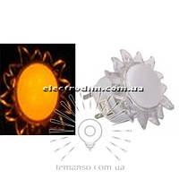 Ночник Lemanso Солнце красный 4 LED / NL8 описание, отзывы, характеристики