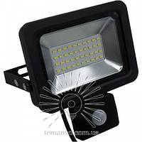 Прожектор LED 20w 6500K IP65 1600LM LEMANSO с датчиком чёрный/ LMPS22 описание, отзывы, характеристики