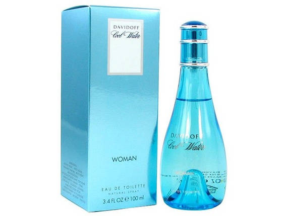 Davidoff Cool Water Women туалетная вода 100 ml. (Давидофф Кул Ватер Вумен), фото 2