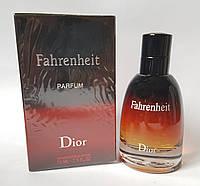 Мужская парфюмированная вода Christian Dior Fahrenheit Parfum 75 ml + 5 мл в подарок