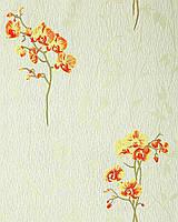 EDEM 122-35 дизайнерские обои с цветами орхидеи | светло-зеленые