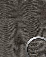WallFace 14797 LEGUAN дизайнерская самоклеящаяся настенная панель из синтетической кожи черная | 2,6 кв.м
