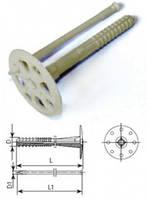 Пластиковое крепление для теплоизоляции с пластиковым гвоздм IZO 10120 (100 шт.)