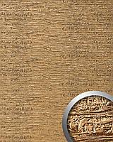WallFace 15660 PERSIAN TREASURE панель настенная самоклеящаяся структурная из синтетической кожи золотая   2,60 кв.м