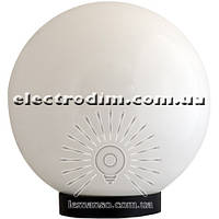Шар диаметр 150 белый Lemanso PL2102 макс. 25W + база с E27 описание, отзывы, характеристики
