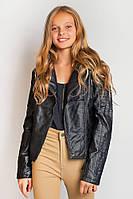 Куртка женская стильная 658K001 junior (Черный)