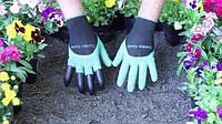 Перчатки садовые, перчатки с когтями, садовые перчатки garden, gardening gloves, садовые рабочие перчатки