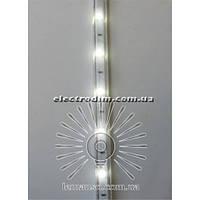 Дюралайт-лента LEMANSO 30SMD силикон белая 5050 220V / LM538