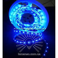 Светодиодная лента LEMANSO IP20 60SMD 3528 12V синяя 4.8W/m / LM362