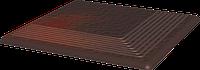 Cloud Brown ступень угловая структурная 30x30