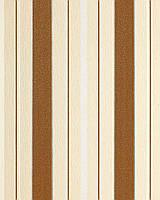 EDEM 069-21 дизайнерские структурные обои в широкую полоску кремово-ореховые серебристо-белые