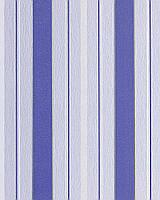 EDEM 069-22 дизайнерские обои в ширкую полоску кобальтовые ярко-голубые серебристые