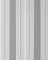 EDEM 069-26 дизайнерские обои в широкую полоску темно-серые серо-белые серебристые