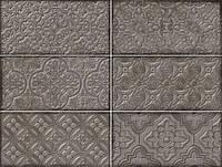 Облицовочная плитка DANTE DECOR GREY 120x240x8