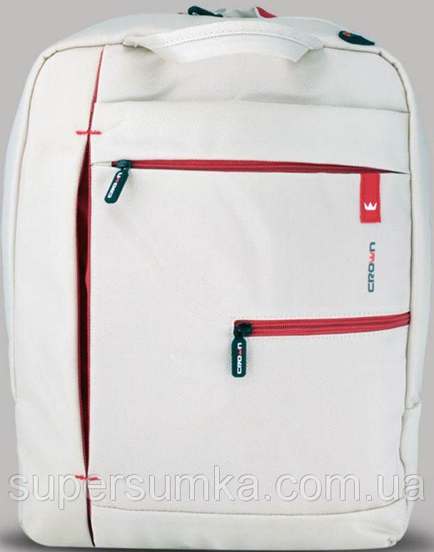 """Рюкзак для ноутбука 15,6"""" Crown Practical Series, BPP-5515W белый"""