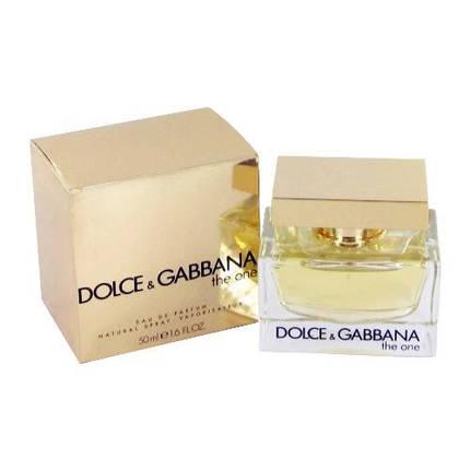 Dolce & Gabbana The One парфюмированная вода 75 ml. (Дольче Габбана Зе Уан), фото 2