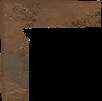Semir beige цоколь двухэлементный левый 30x8.1