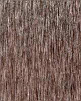 EDEM 1020-16 дизайнерские моющиеся обои в рельефную полоску с металлическим глянцевым эффектом коричнево-серебристые